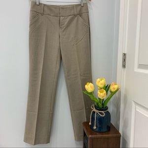 Khaki Beige Editor Dress Pants